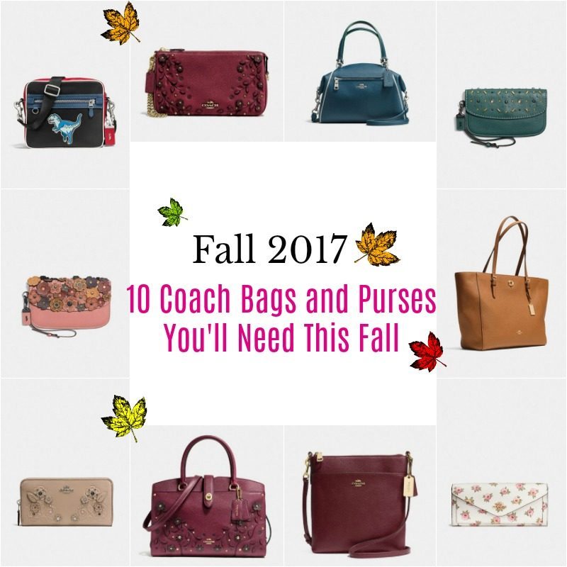 Coach bags and purses