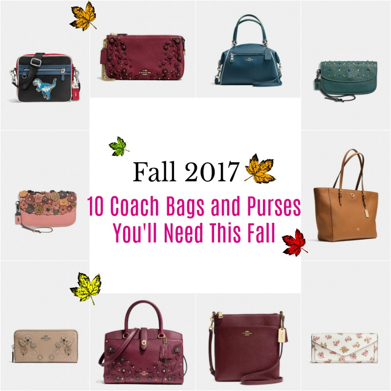 Fall 2017: 10 Coach Bags and Purses You'll Need This Fall