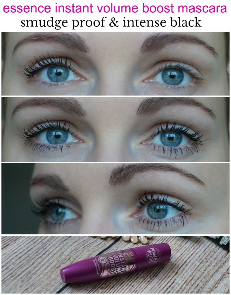 Essence Instant Volume Boost mascara smudge proof & intense black