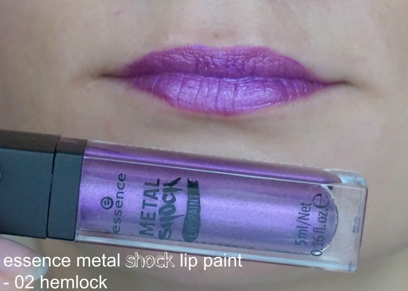Essence Metal Shock Lip Paint 02 hemlock
