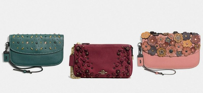 coach clutches fall 2017