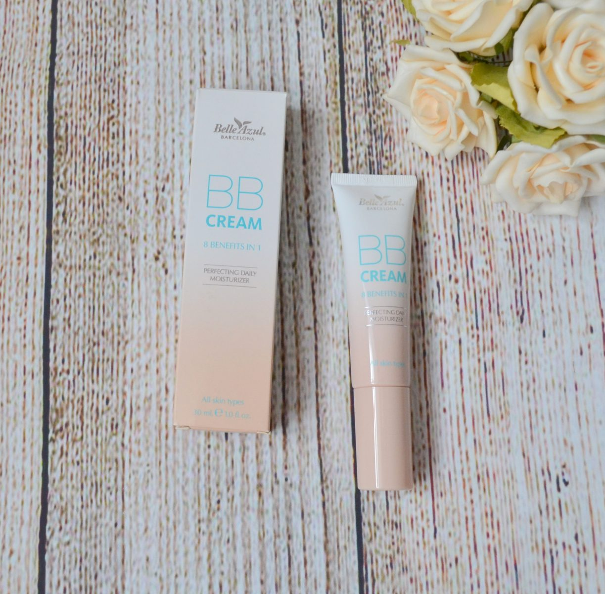 Belle Azul BB Cream 8-in-1 Beautifying Balm Moisturizer in Light