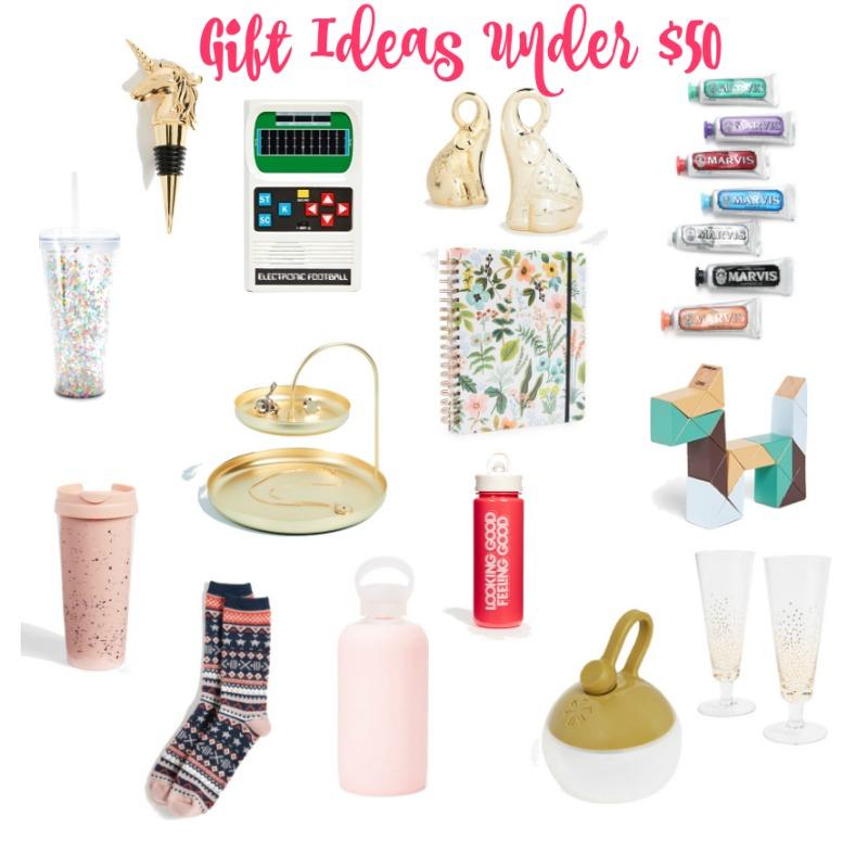 Gift Ideas Under $50
