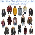 The Best Colourful coats & jackets for fall/winter 2017