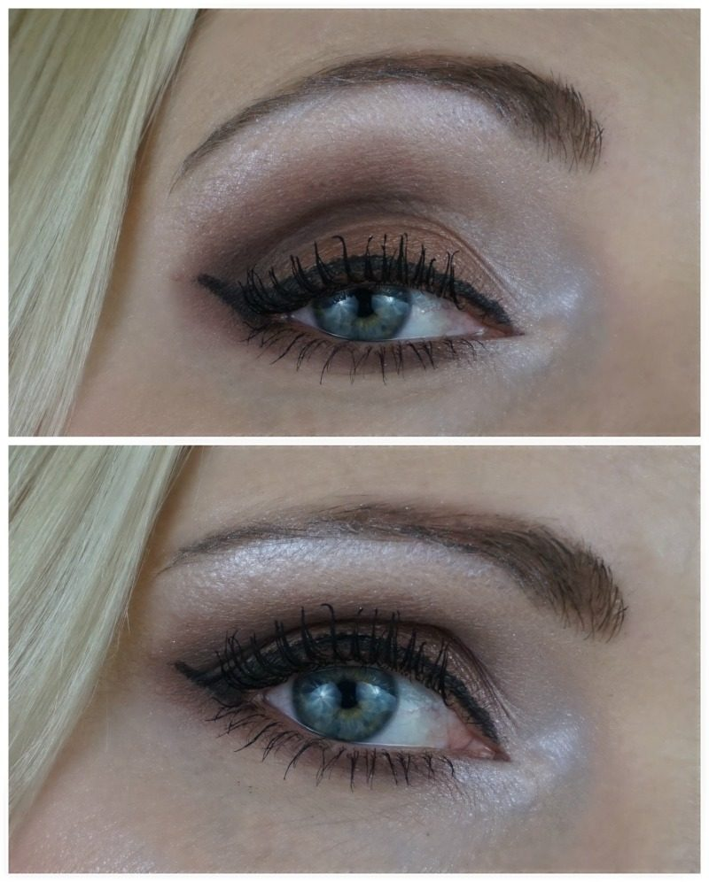 brown smoky eye with essence my must haves eye shadows