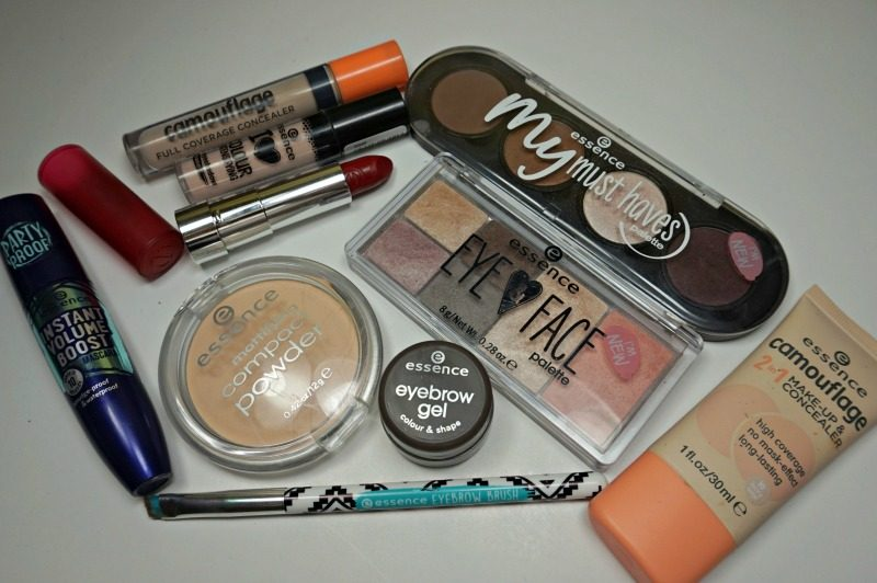 essence makeup products