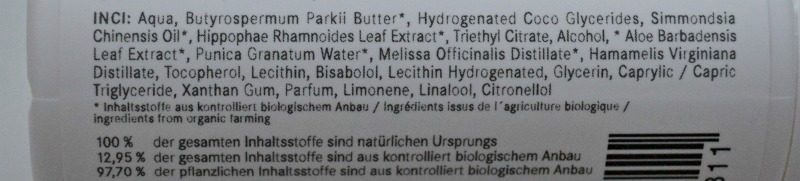 Eubiona Deo Roll-On Aloe Vera Pomegranate ingredients