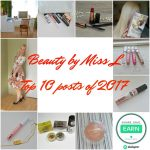 Beauty by Miss L Top 10 posts of 2017