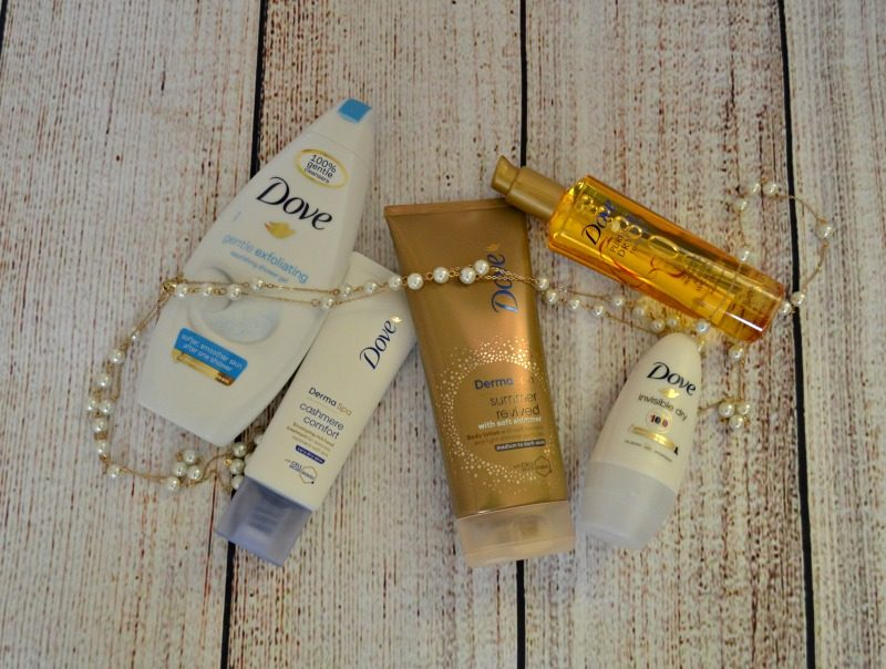 dove skin and hair care products