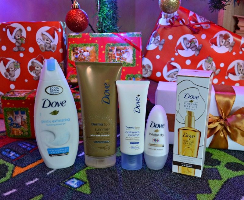 look your best this holiday season with Dove hair and skin care products