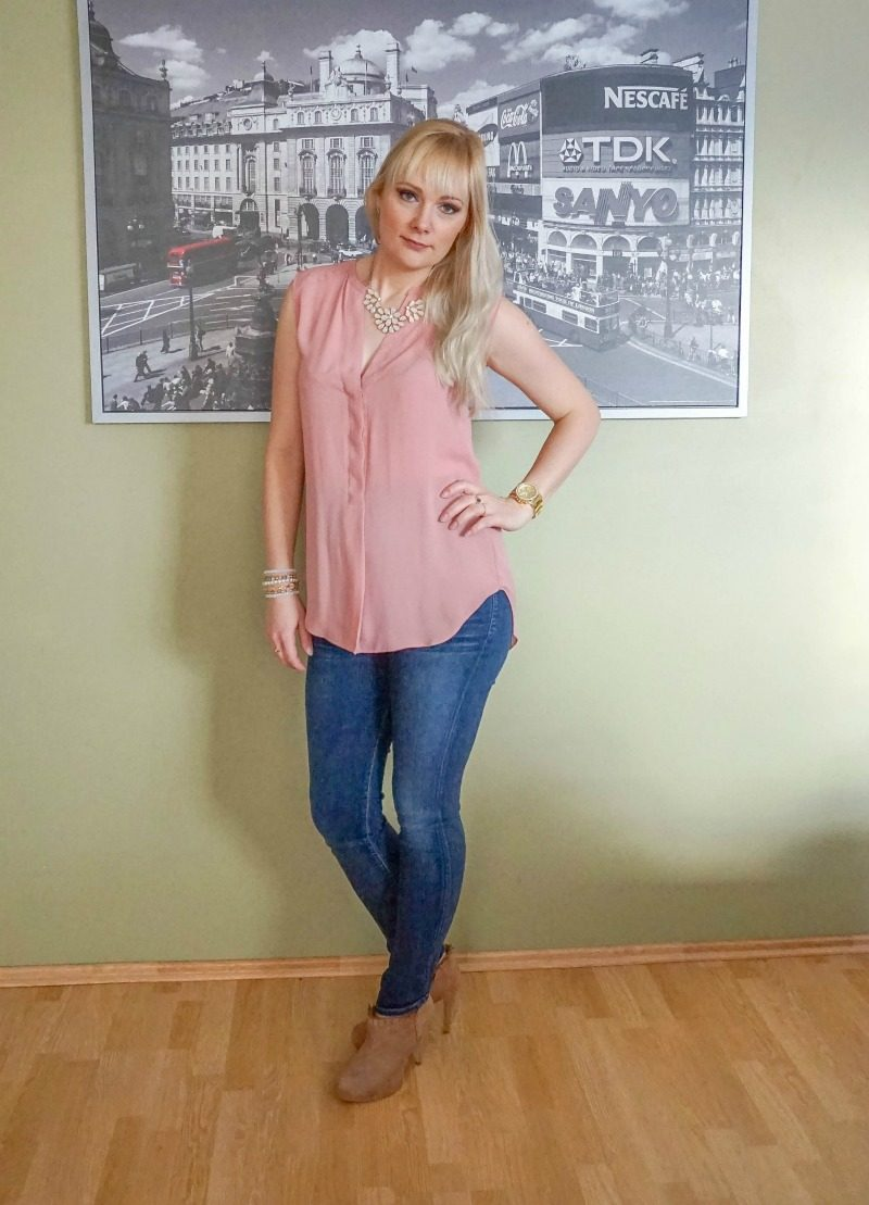 Citizens of Humanity maternity jeans H&M top