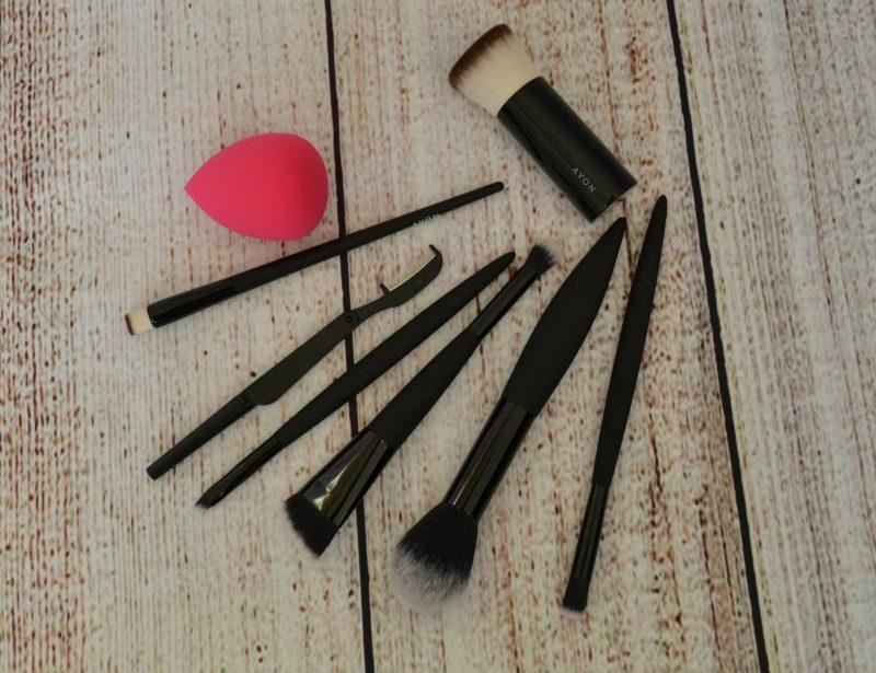 avon makeup brushes