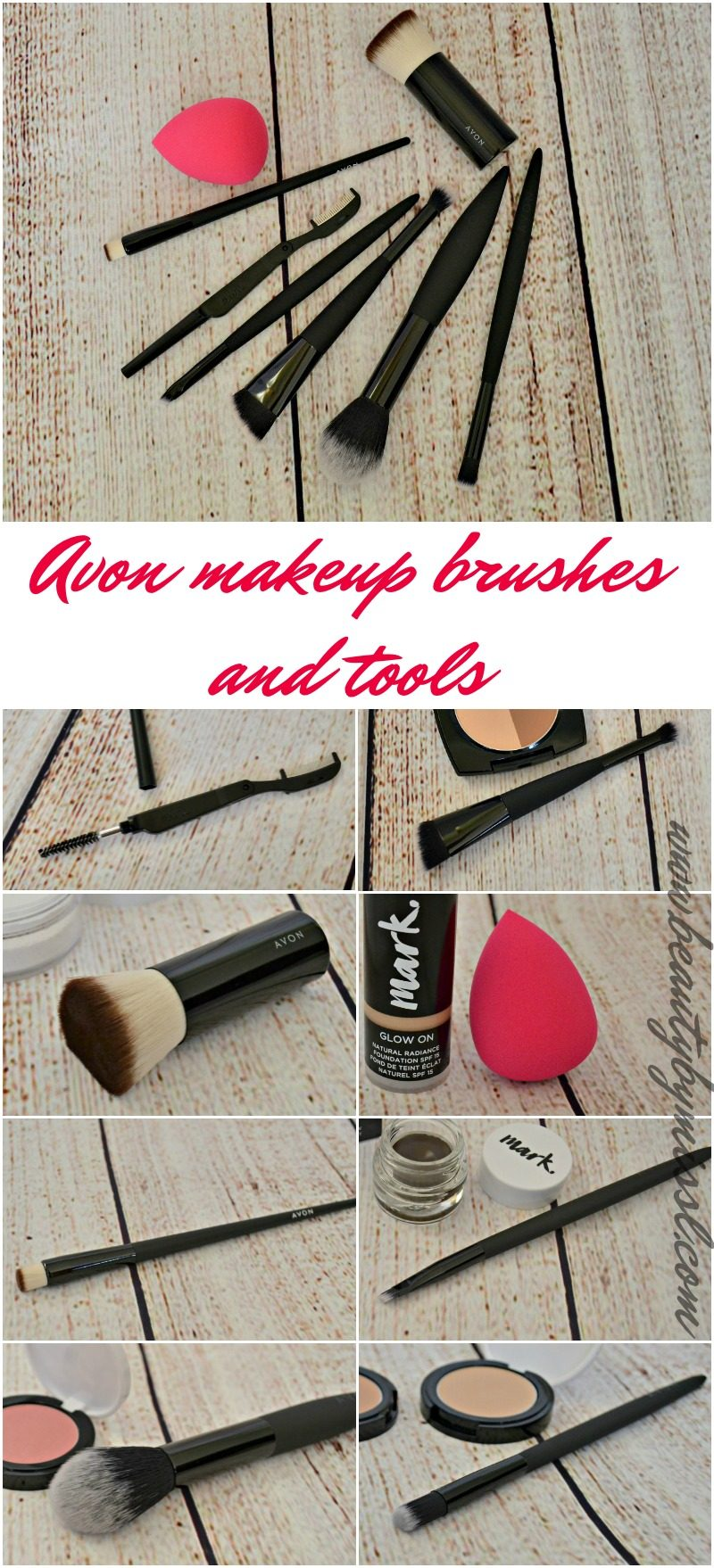 Avon makeup brushes and tools