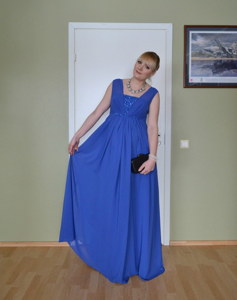 86b62e871b9 Custom made formal maternity maxi dress JJ s House