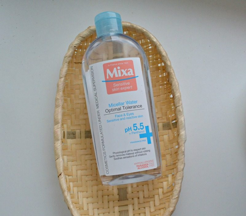 review Mixa Micellar Water Optimal Tolerance