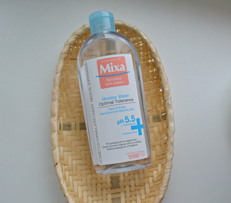 review Mixa Micellar Water Optimal Tolerance