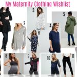 My Maternity Clothing Wishlist spring 2018