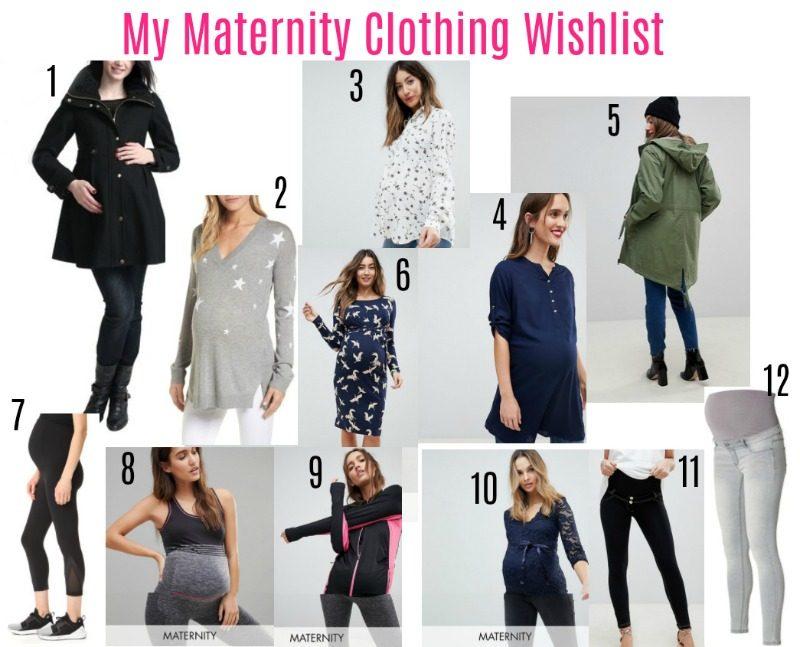 My Maternity Clothing Wishlist spring 2018