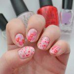 14 Days of Valentine's Day   Pond Heart Nail Art