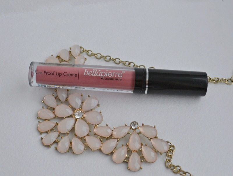 Bellapierre Kiss Proof Lip Creme review and swatch