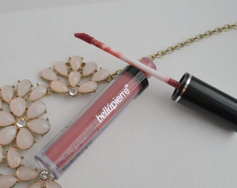 Bellapierre Kiss Proof Lip Creme in Nude review