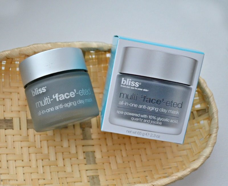 BlissMulti-'face'-ted All-in-One Anti-Aging Clay Mask