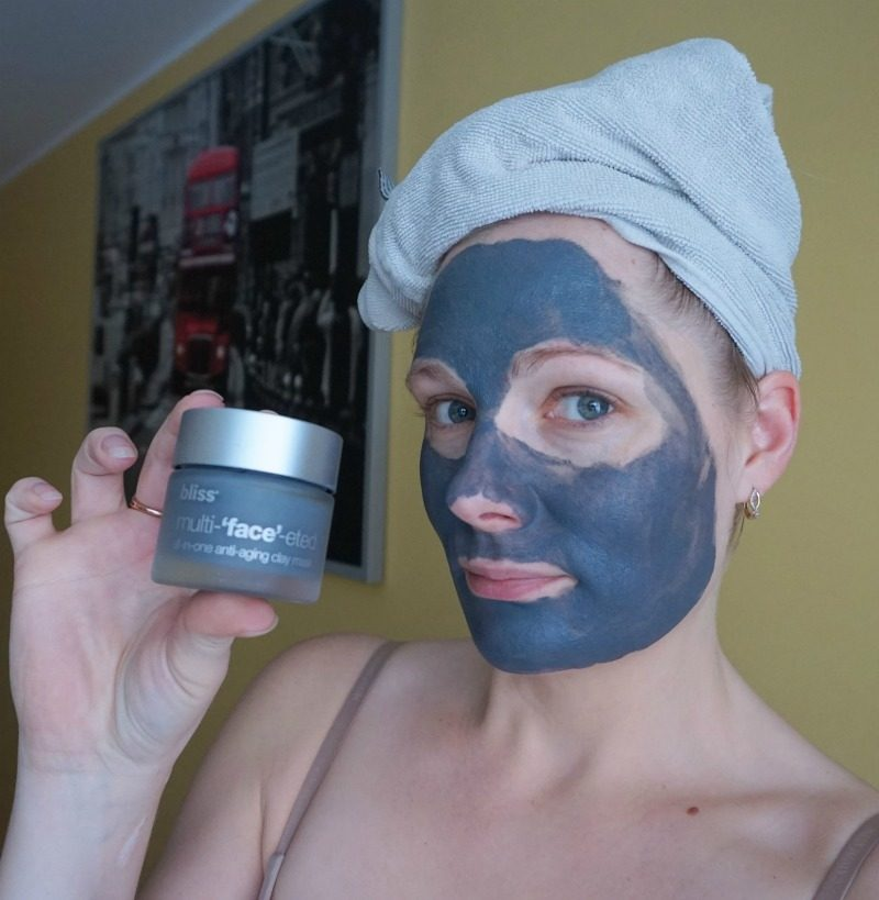 Bliss Multi-'face'-ted All-in-One Anti-Aging Clay Mask experience