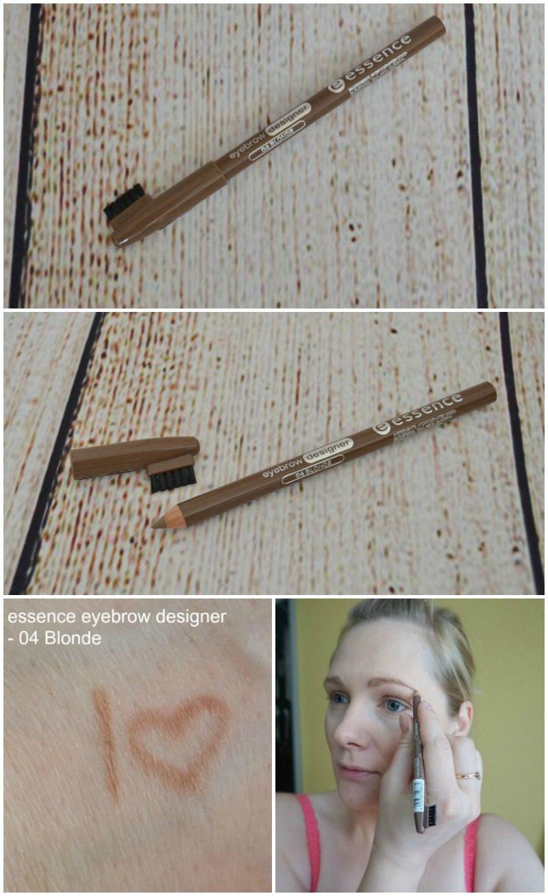 essence eyebrow designer review