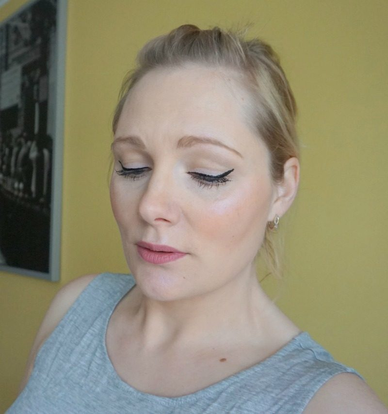simple daytime makeup look