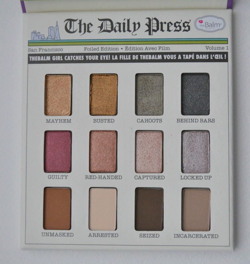 theBalm Foiled Again Foil Eyeshadow palette