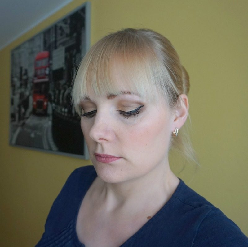 theBalm Foiled Again Foil Eyeshadow palette makeup look