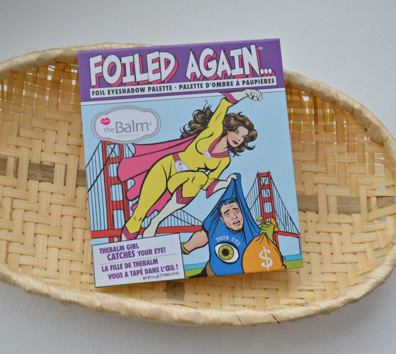 theBalm Foiled Again Foil Eyeshadow palette review