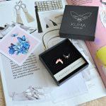 Kuma Butterfly Effect Earrings | Kuma kahtepidi kantavad kõrvarõngad