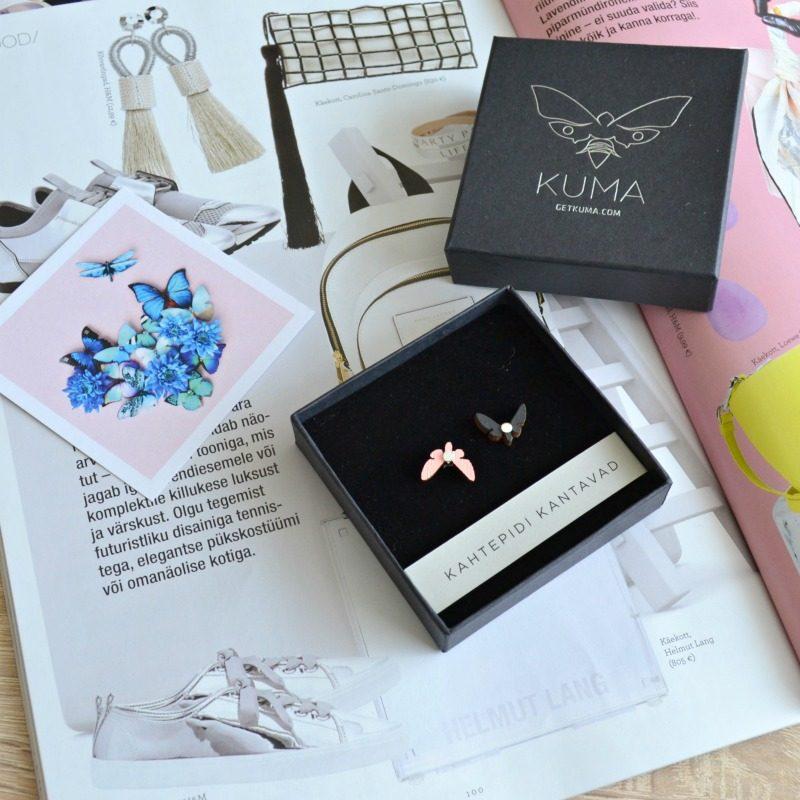 Kuma Butterfly Effect Earrings - beautybymissl.com