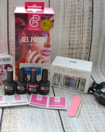 Pink Gellac starter kit contains