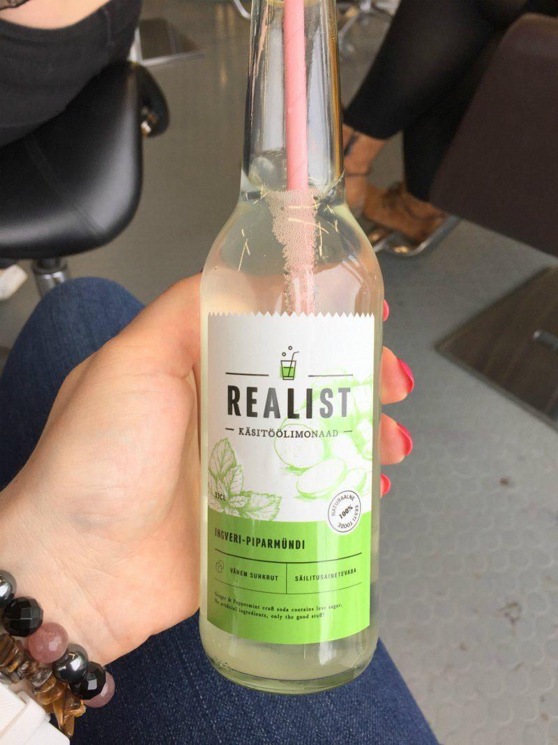 Realist Käsitöö limonaad ingveri-piparmündi