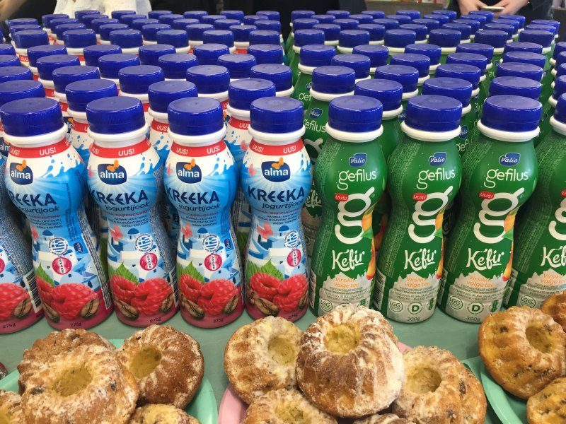 Valio Alma Kreeka jogurtijook & Gefilus Kefir