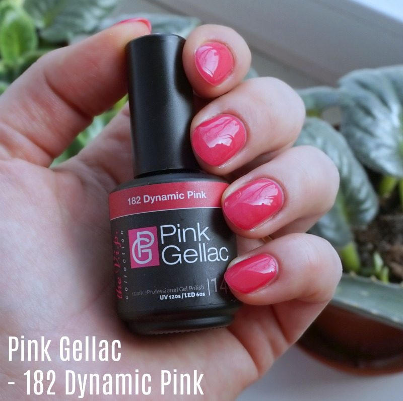pink gellac 182 dynamic pink swatch
