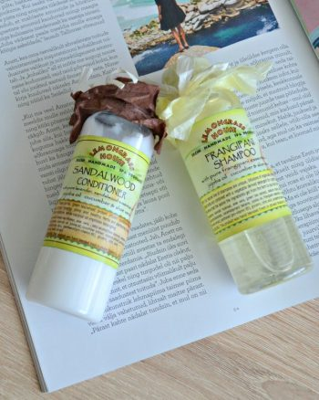Lemongrass House Frangipani Shampoo & Sandalwood Conditioner