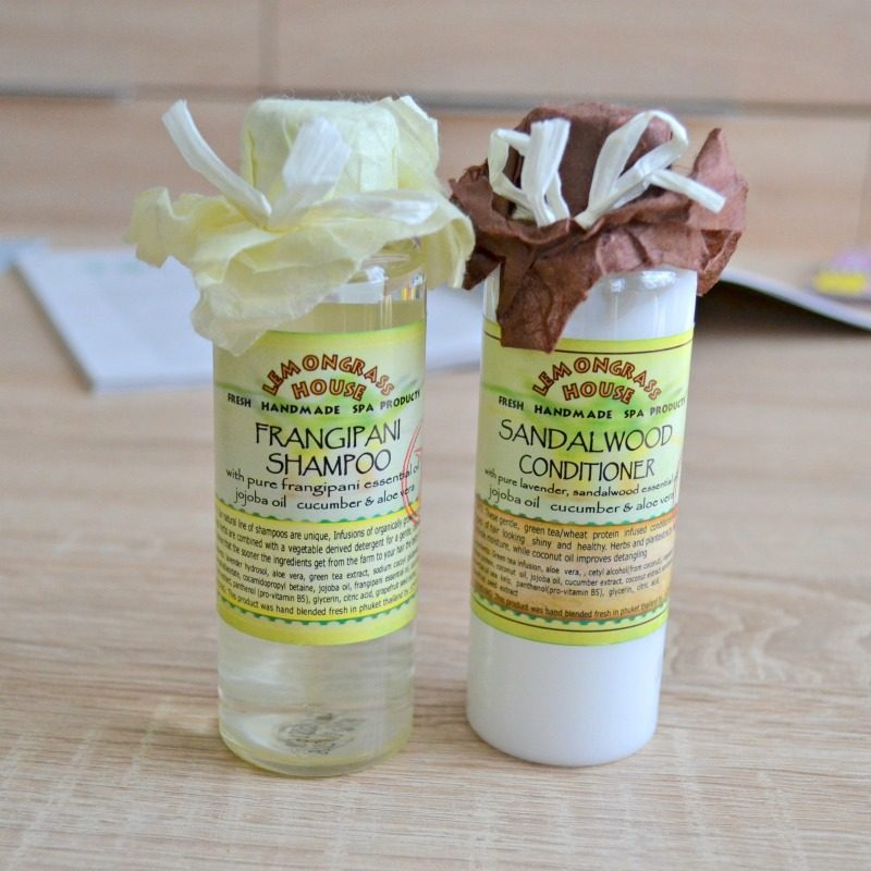 Lemongrass House Shampoo Conditioner review