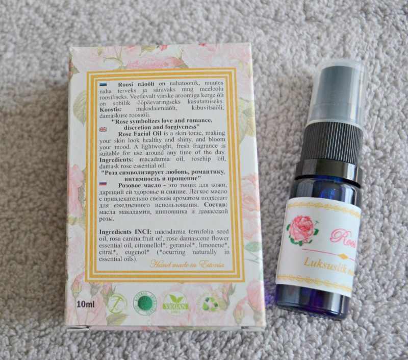 Signe Seebid Luxurious Rose face oil for normal skin