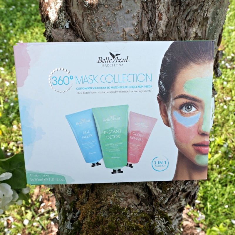 Belle Azul 360 Mask Collection