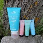Belle Azul Dual Facial Cleanser. Belle Azul 360° Mask Collection