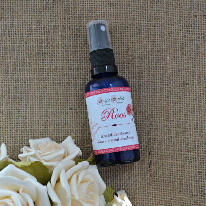 Signe Seebid kristalldeodorant roos