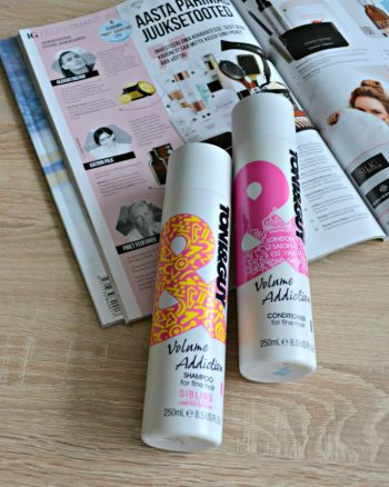 Toni&Guy Volume Addiction Shampoo & Conditioner for fine hair