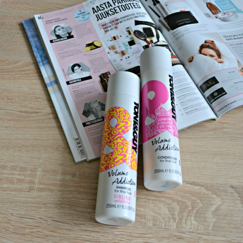Toni&Guy Volume Addiction Shampoo & Conditioner for fine hair