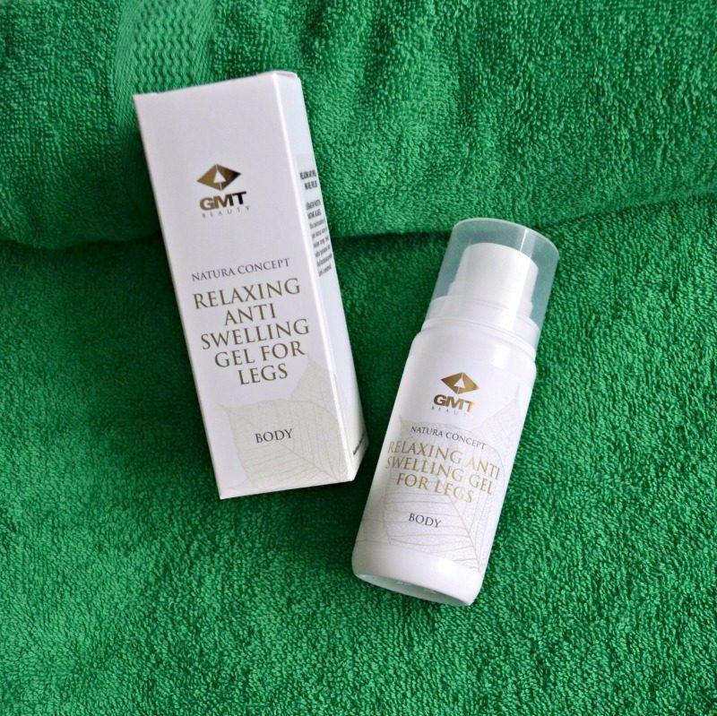 GMT Beauty Relaxing Anti Swelling Gel For Legs. GMT Beauty lõõgastav paistetusvastane jalageel
