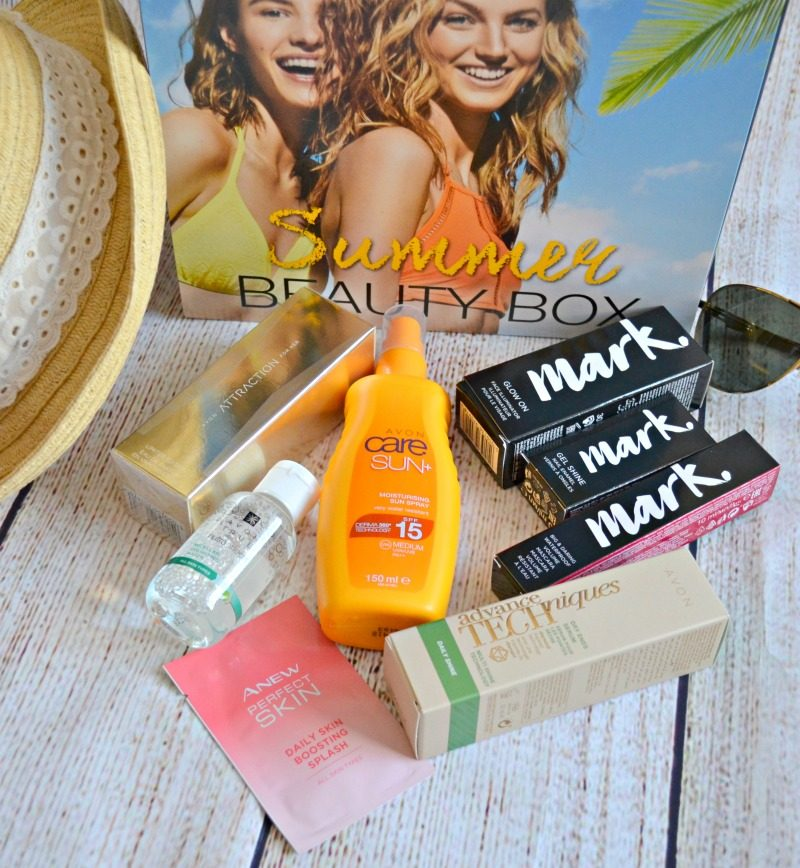 what products are in Avon Summer Beauty Box