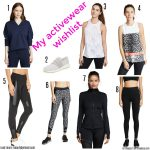 My activewear wishlist & Miss L weekly link up #160