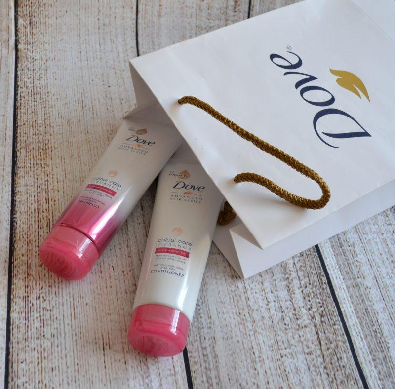 Dove Advanced Hair Series Colour Care Vibrancy shampoo conditioner